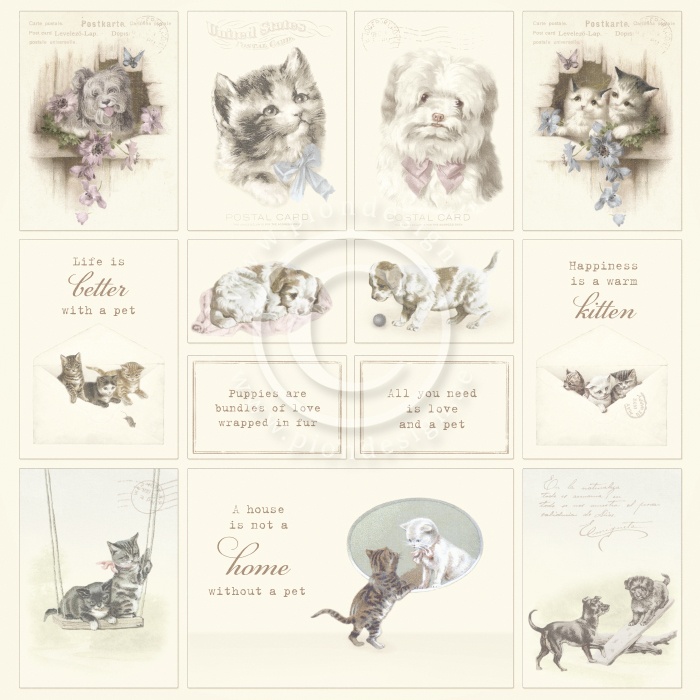 pion papier/images from the past/Our furry Friends PD1633.jpg